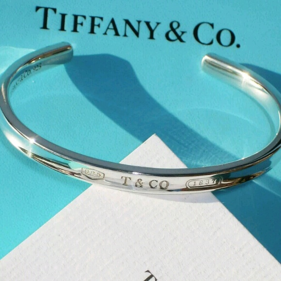 ff15606cf Tiffany & Co Medium Narrow 1837 T&CO CUFF Bracelet.  M_5c788991e944bab9699660fd